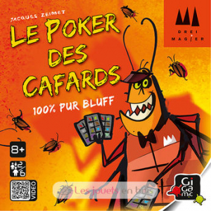 Le poker des cafards (Gigamic)