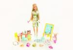 Barbie professeur d'art