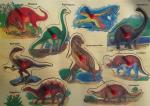 Encastrement dinosaures