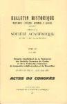 Congrès interfédéral de la Fédération des Sociétés Savantes du Centre et de la Fédération historique du Languedoc méditerranéen et du Roussillon