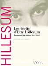 Les écrits d'Etty Hillesum