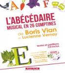 L'abécédaire musical en 26 comptines de Boris Vian et Lucienne Vernay