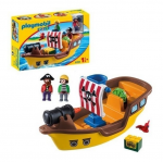 Bateau pirate Playmobil 1.2.3