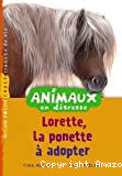 Lorette, le poney à adopter