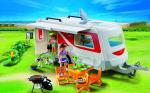 Caravane et véhicule